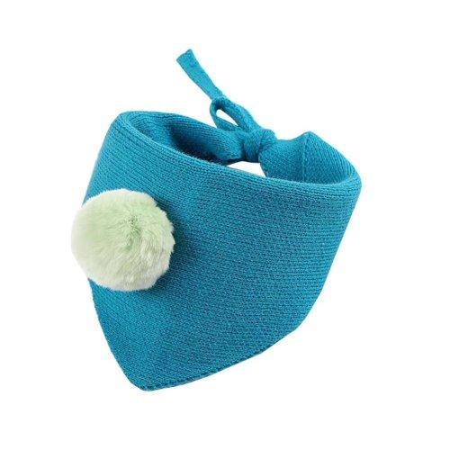 Lovely Warm Winter Scarf Kids Neck Warmer-Blue