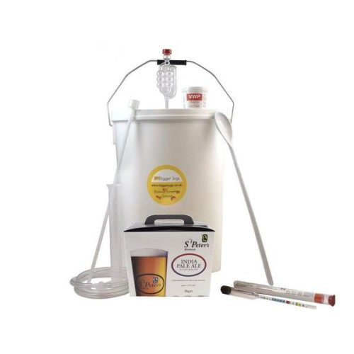 Starter Beer Making Set - St Peters IPA 32 Pint Size with Equipment