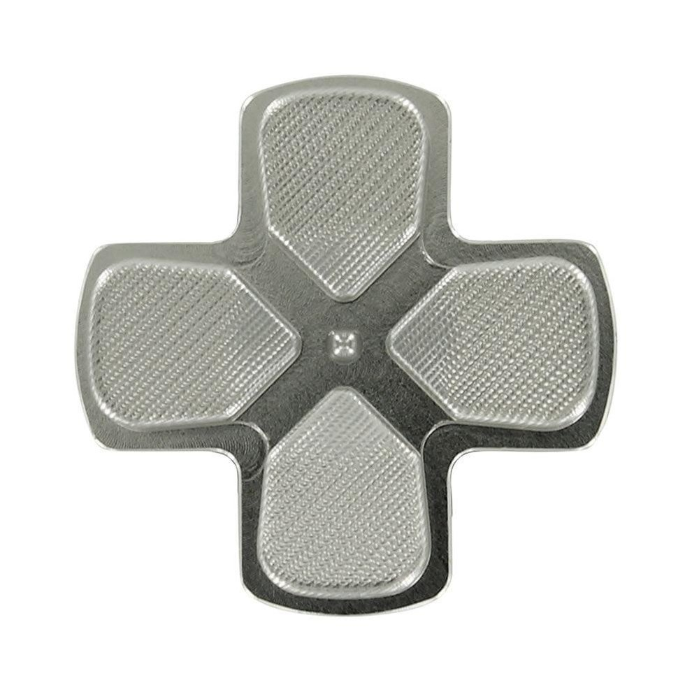 Zedlabz Alloy Metal Directional D Pad Arrow Button For PS4 Controllers -  Silver