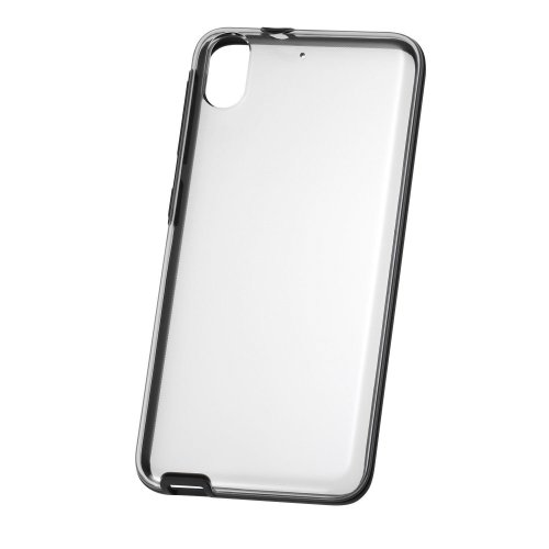 Genuine HTC Clear Shield Transparent Protective Case Cover for HTC Desire 626 - Black