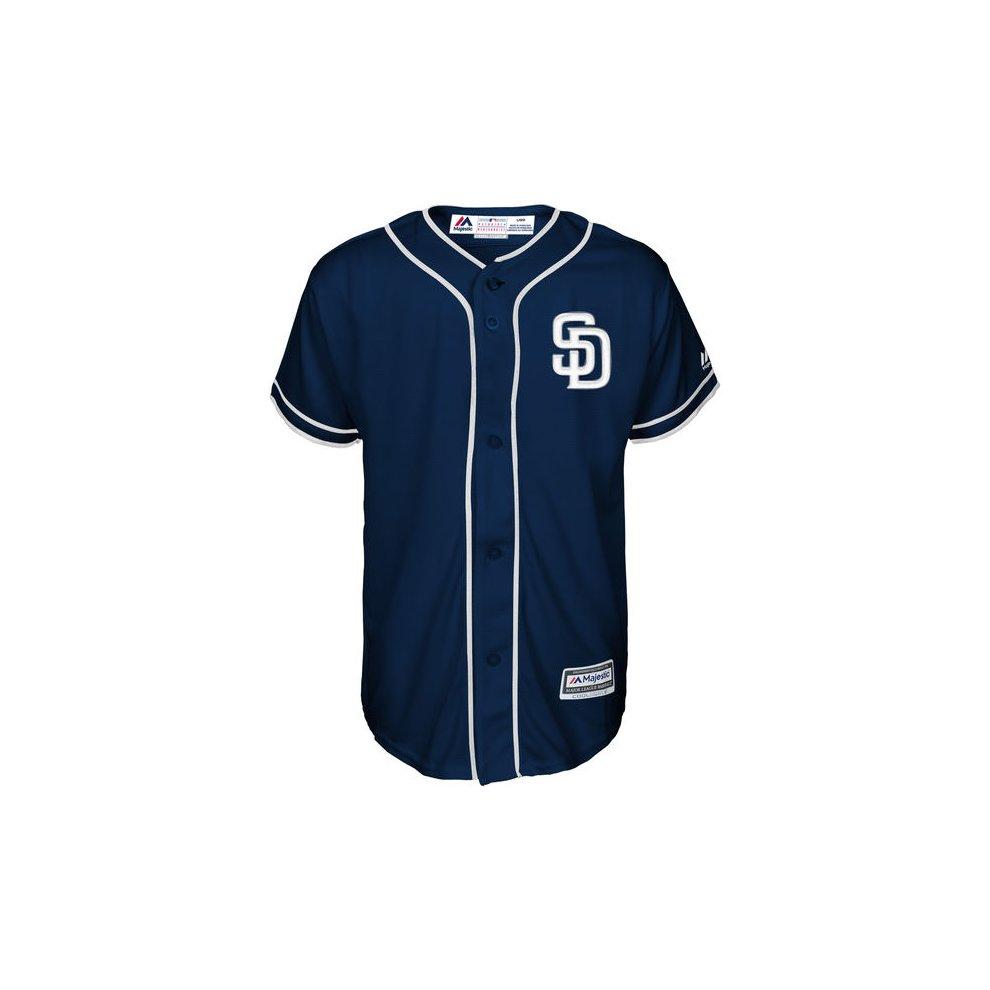 huge discount 70eab 09890 San Diego Padres Cool Base MLB Custom Navy Jersey on OnBuy
