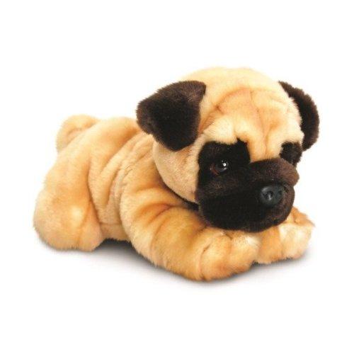 Keel Reggie Pug Dog Soft Toy 35cm