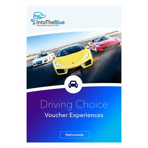 £50 Driving Adventure Gift Experience Voucher Box