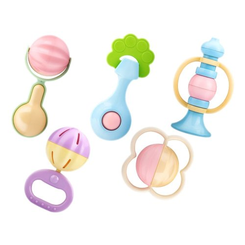 5PCS Activity Toy Creative Baby/Infant Teether Gift Toy Developmental Toy