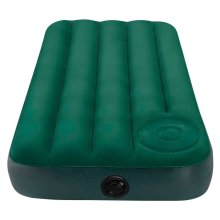 Inflatable Comfortable Sleep Airbed with Built-In Foot Pump Single/Jnr Twin Size
