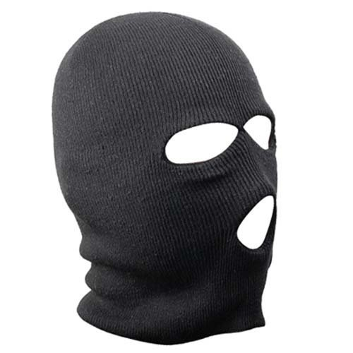 Trixes Black Balaclava | Paintball, Motorbike & Skiing Balaclava
