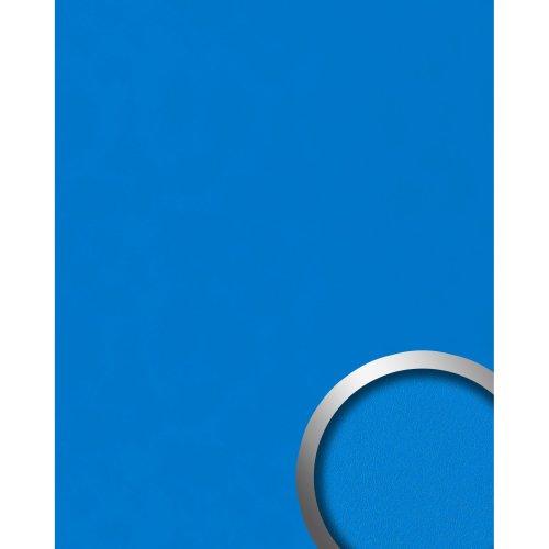WallFace 20422 Antigrav COBALT BLUE Design panelling nappa leather look blue