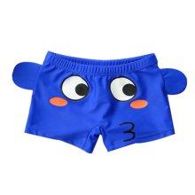 Green Boy Leg Swim Shorts for Kids Cartoon Cartoon Car Swim Trunk, 3-5 Years Old