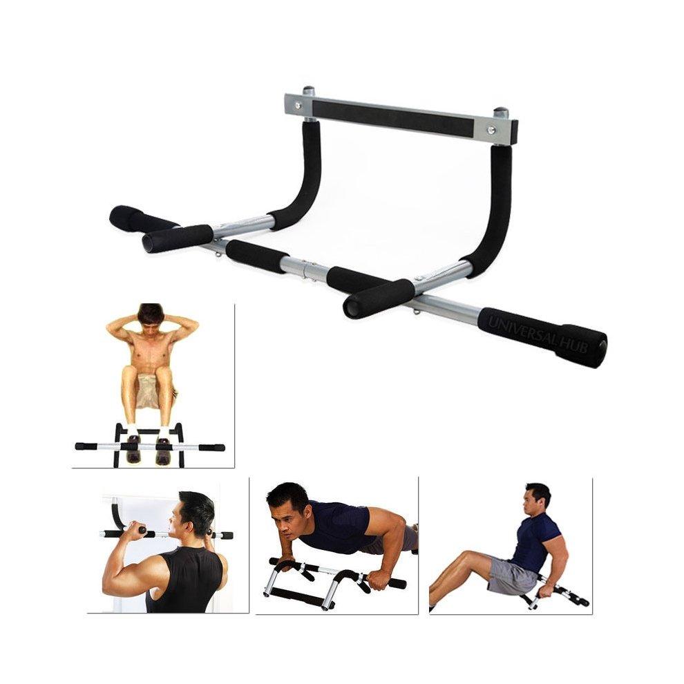 Kabalo Gym Exercise Pull Up Bar For Door Doorway Multi Training Bar