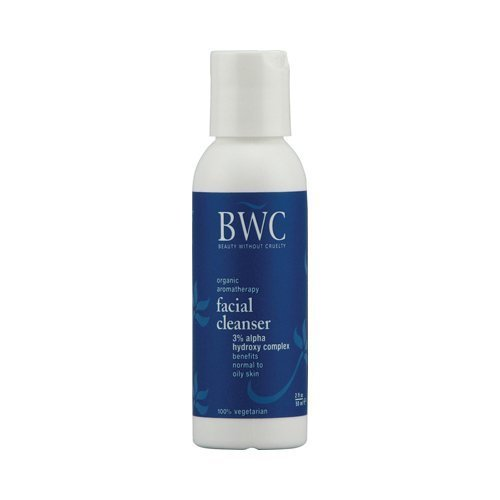 Beauty without Cruelty AHA 3 Percent Facial Cleanser, 2.0 Fluid Ounce