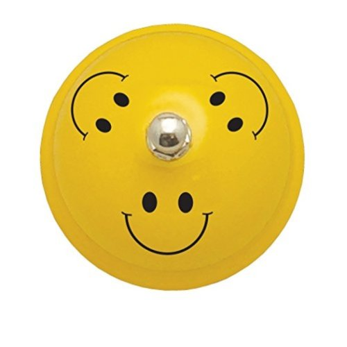 """Ashley Productions Decorative Smile Faces Call Bell, 3"""""""