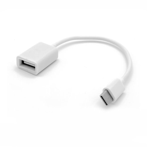 DYNAMODE USB-C Type-C Female to OTG (On-the-Go) USB3 Adapter, White (C-TC-OTG)