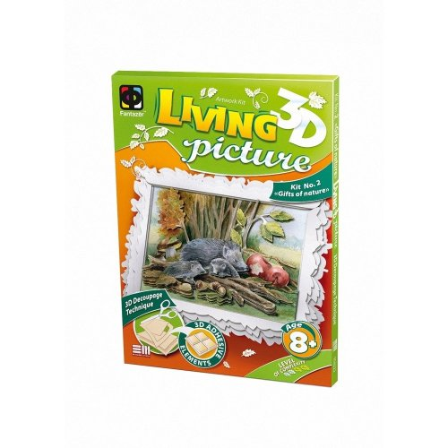 Elf956022 - Fantazer 3d Living Picture - Gifts of Nature