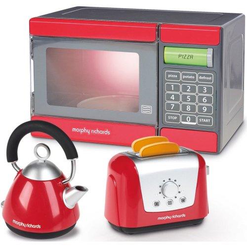 Casdon Morphy Richards Microwave, Kettle & Toaster Set