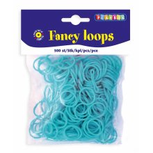 * Playbox - Loops (Loom Bands)- 500pcs lt blue