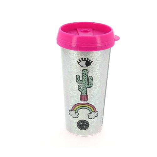 Coffee Girl Ideal Insulated Gang Gift Pinkamp; Silver Sparkle Mug Travel Tea 8wPnOk0