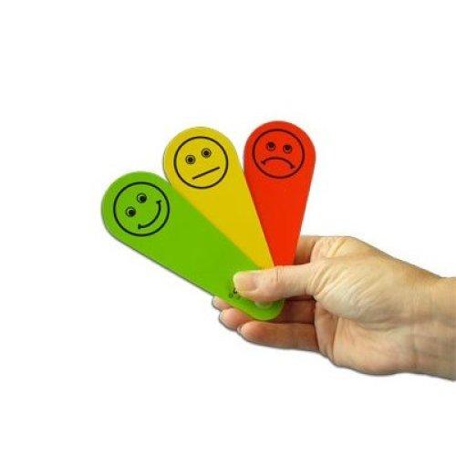 Traffic Light Fan (x1) - Feelings/Emotions Early Years Resource