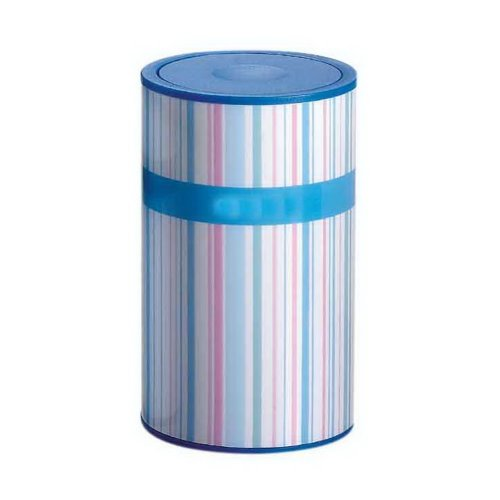 Simple Creative Toothpick Holder Living Room Portable Toothpick Box Blue Stripes