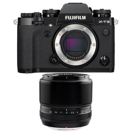 FUJI X-T3 Black + XF 60MM F2.4 R Black
