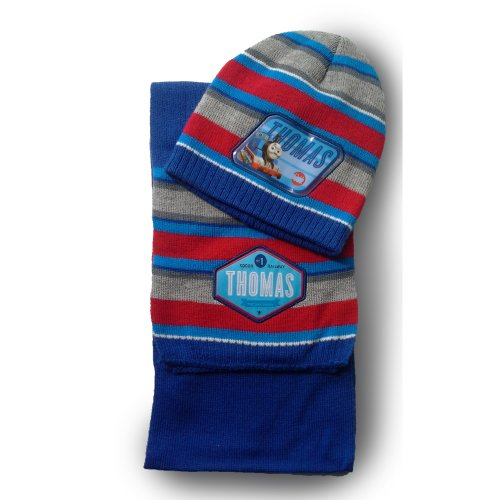 Thomas Hat and Scarf - Red