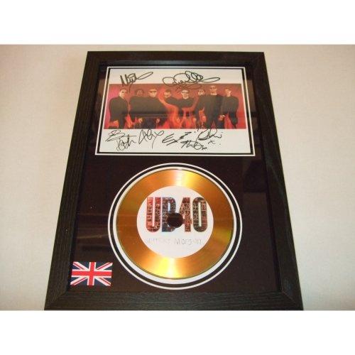 UB40 SIGNED DISC