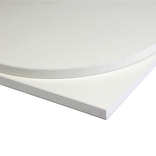 Taybon Laminate Table Top - White Rectangular - 1200x600mm