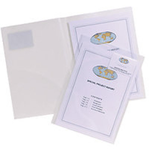 Snopake 14030 A4 Transparent 5pc(s) filing pocket