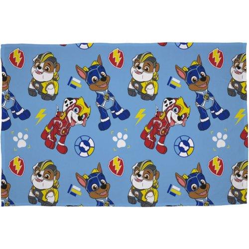 PAW Patrol Super Character Flannel Fleece Blanket Throw