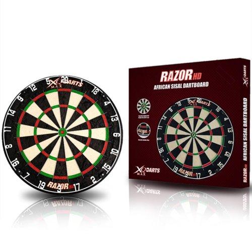 XQmax Darts Arrow Dartboard Dart Board Darts Razor HD Sisal 45.5 cm QD6000020