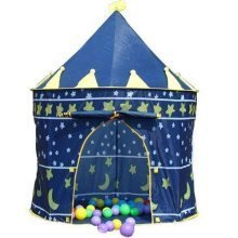 POP UP TENT PRINCESS FAIRY TALE CASTLE / WIZARD SORCERER / DREAM HOME [Sorcerer Wizard Hideout Castle]