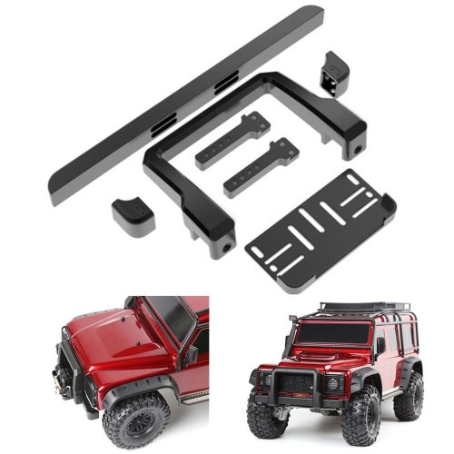 Metal Front Bumper Protector T4 Defender For 1/10 Traxxas TRX-4