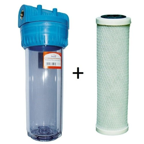 "3/4"" 1"" Bsp Whole House Water Purifier Filter System Kit with Filters Included"