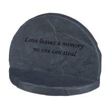 Memorial Love 3841116cm x 12x 7cm Colour: Grey - Trixie Stone Dog New -  trixie memorial stone love dog new