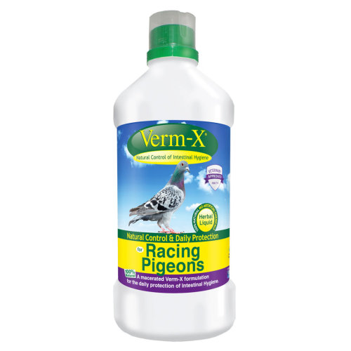 Bird Supplies Other Bird Supplies Verm-x Liquid For Racing Pigeons 500ml