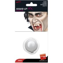 Smiffy's Teeth Fang Fixing Putty Display Card -  putty fang fixing adhesive vampire fancy dress halloween teeth