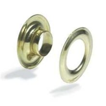 Grommets 3/8in #2 -  grommets 38in 2 brass plated 10 pk fasteners leathercraft tandy