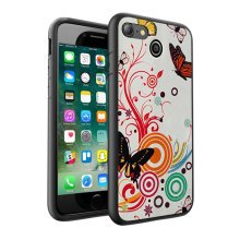 i-Tronixs - Colourful Butterfly Design Printed Case Skin Cover - 007