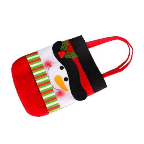 Lovely Beautiful Christmas Gift Bag/ Christmas Stocking, Storage Bag, Snowman