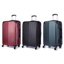 KONO Stripe Luggage Suitcase 4 Wheels 20 24 28 Inch Set