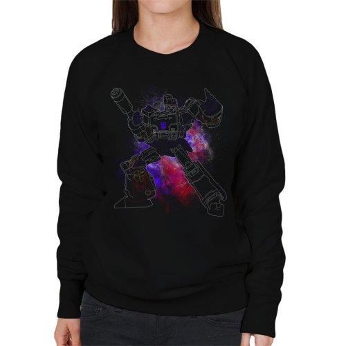 Megatron Spray Transformers Women's Sweatshirt