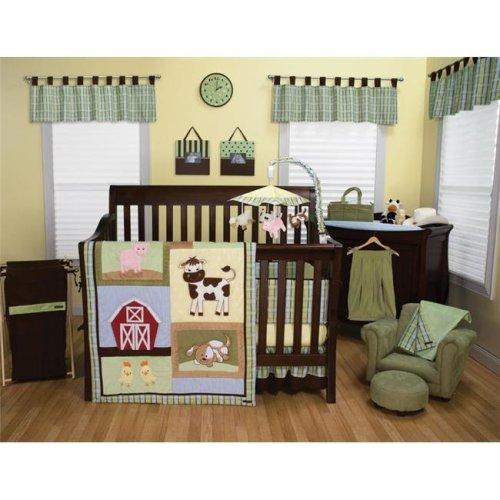 Trend Lab 106719 Baby Barnyard - 3 Piece Crib Bedding Set