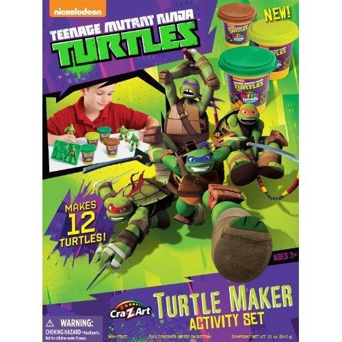 Teenage Mutant Ninja Turtles Cra Z Art Mold n Play Activity Set