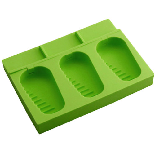 Silicone Ice Cube Tray Jelly Ice Candy Chocolate Tray Mold Party Maker, Green