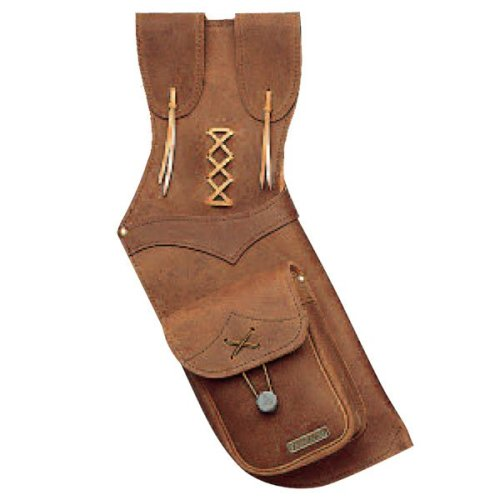 Neet Archery Brown Suede Field Quiver RH