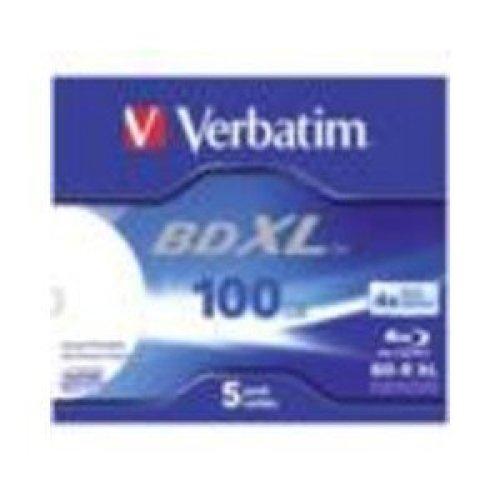 Verbatim 43789 BD-R XL Printable Single Side, Double Layer