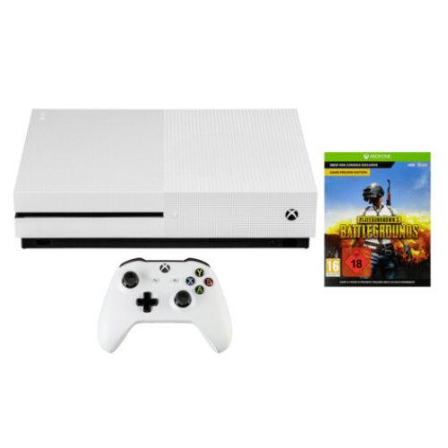 Microsoft Xbox One 1TB   USK 18 + PlayerUnknown's Battlegrounds