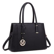 Miss Lulu Women Handbag Multi Compartments Shoulder Bag