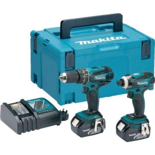 Makita DLX2012MJ 18v LXT Combi Drill & Impact Driver Kit