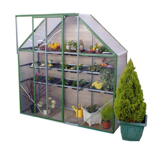 Compact Mini Spacesaver Greenhouse 6x2