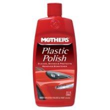 236ml Plastic Car Polish - Mothers 8oz -  mothers plastic polish 236ml 8oz